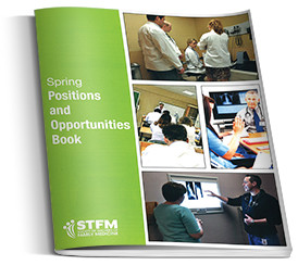 Positions and Opportunities Book from the Society of Teachers of Family Medicine