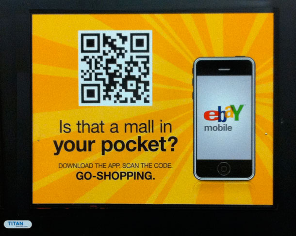 place advertising using qr codes in my print campaign
